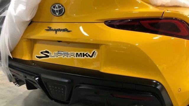 Penampakan Bokong Seksi Toyota Supra