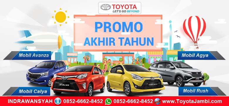 Promo Showroom Toyota Jambi Akhir Tahun 2018