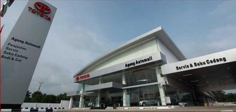 Dealer Agung Toyota Jambi