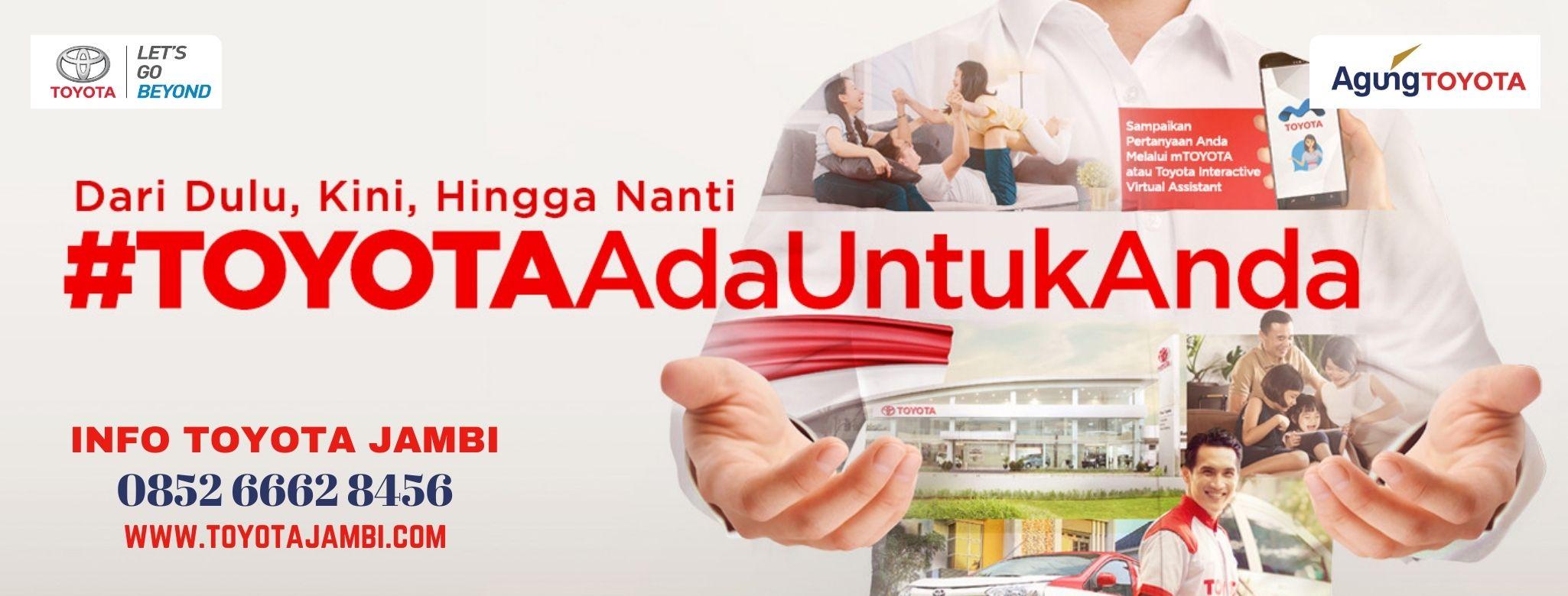 Promo Kemerdekaan Toyota Jambi Agustus 2020